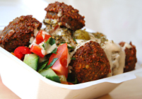 Falafel Salad Box