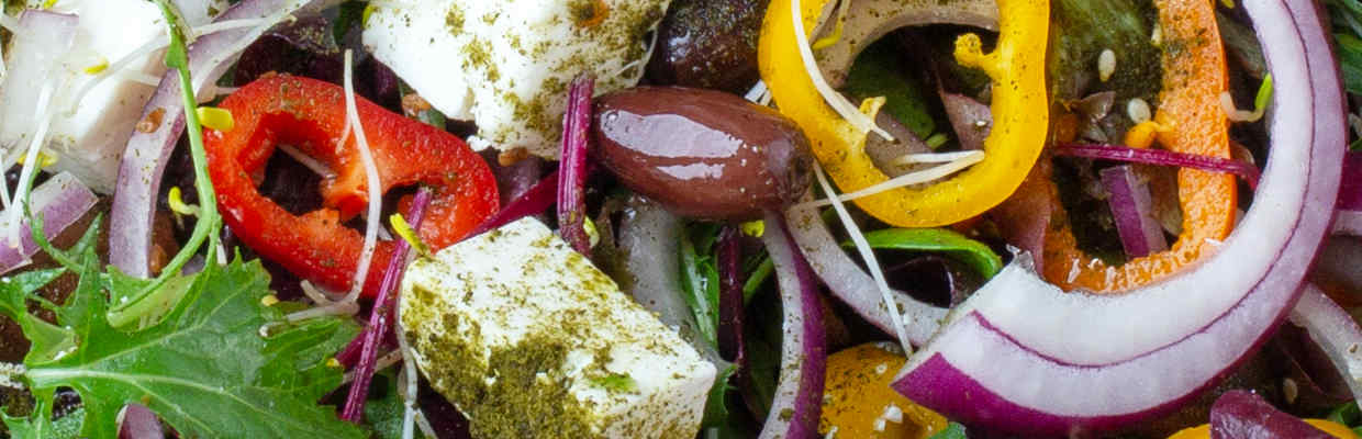 Greek Salad by Ednas Kitchen Bristol