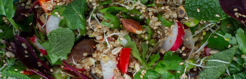 Pomegranate salad by Ednas Kitchen