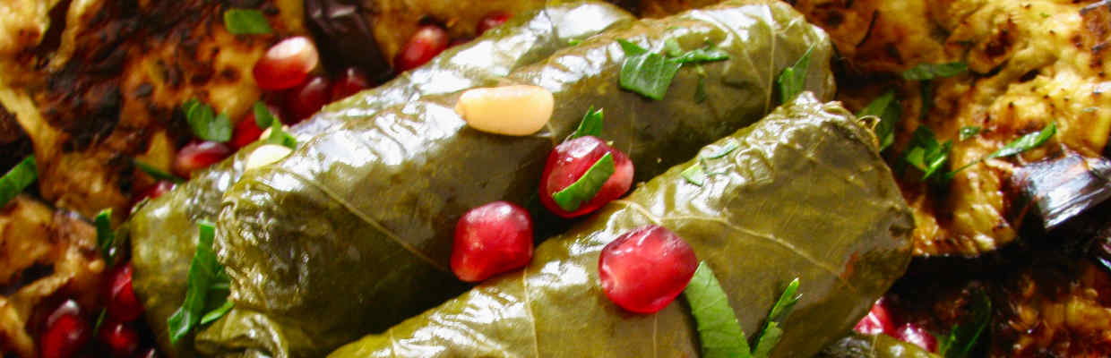 Vine Leaves by Ednas Kitchen Bristol